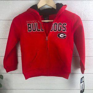 NCAA Youth Georgia Bulldogs Med 5-6 Sweatshirt